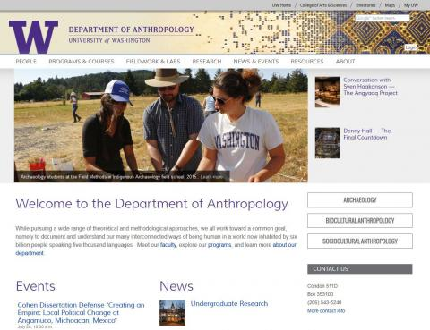 UW Department of Anthropology