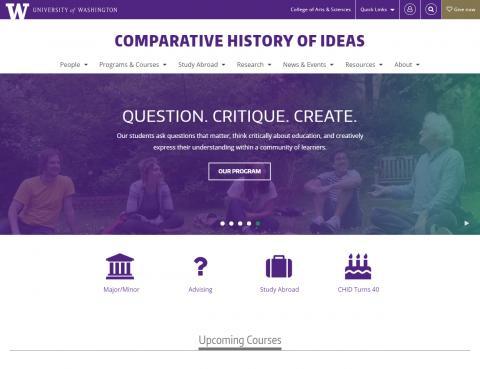 UW Comparative History of Ideas Program