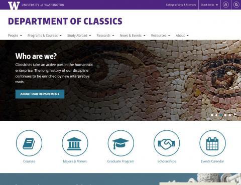 UW Department of Classics