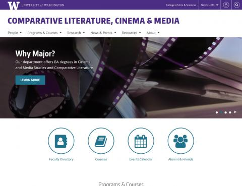 UW Comparative Literature, Cinema & Media