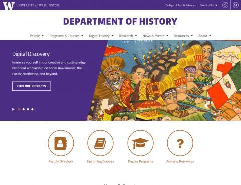 UW Department of History