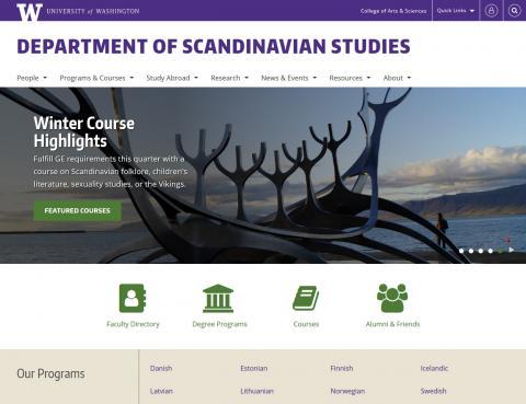 UW Department of Scandinavian Studies
