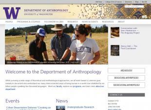 UW Department of Anthropology