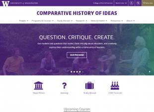 UW Comparative History of Ideas Program