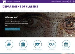 UW Department of Classics