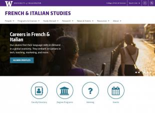 UW Department of French & Italian Studies